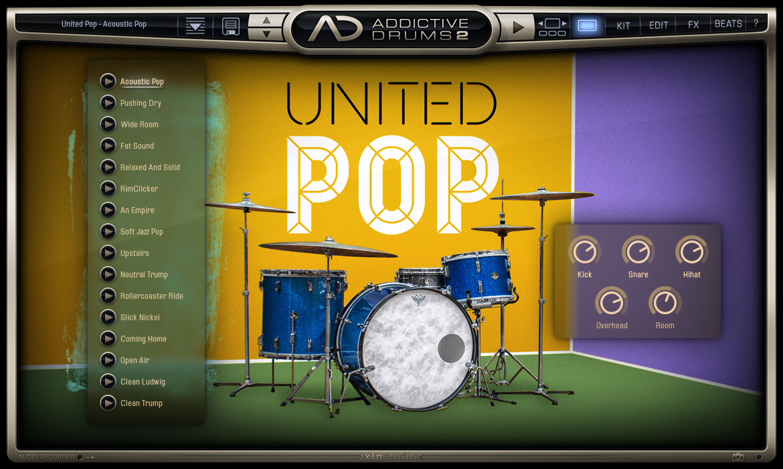 XLN Audio Addictive Drums 2 Custom | AudioDeluxe