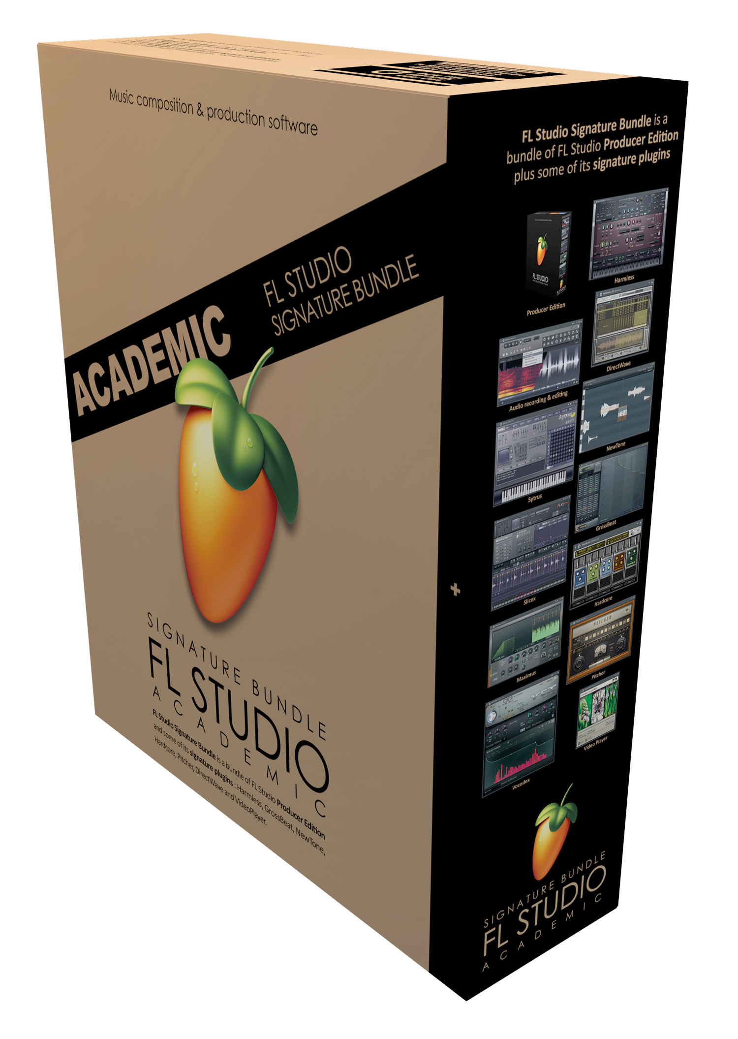 Image Line FL Studio 20 Signature Bundle Academic | AudioDeluxe