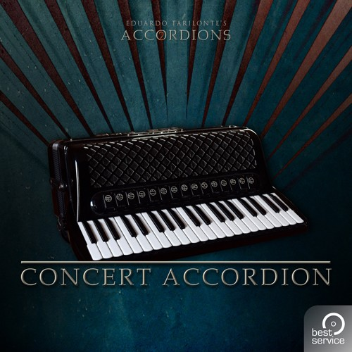 Best Service Accordions 2 - Single Concert Accordion | AudioDeluxe