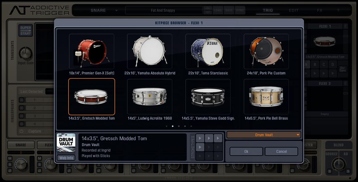 XLN Audio Addictive Trigger + Drum Vault Bundle | AudioDeluxe