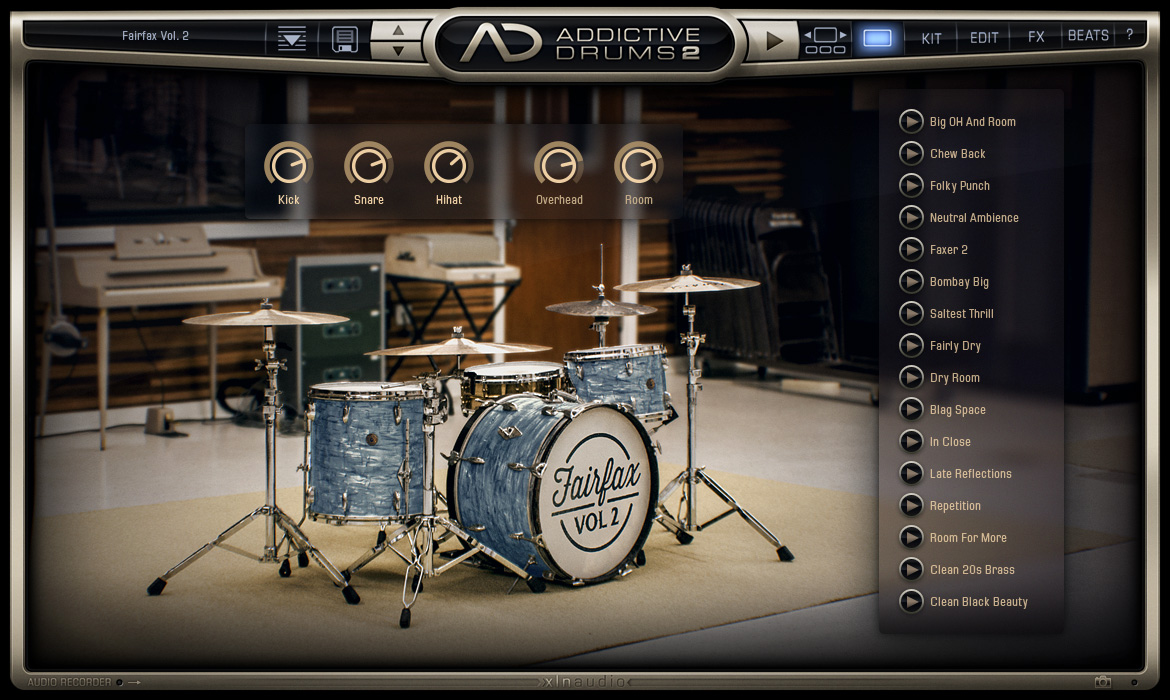 xln audio addictive drums 2 creative collection audiodeluxe. Black Bedroom Furniture Sets. Home Design Ideas