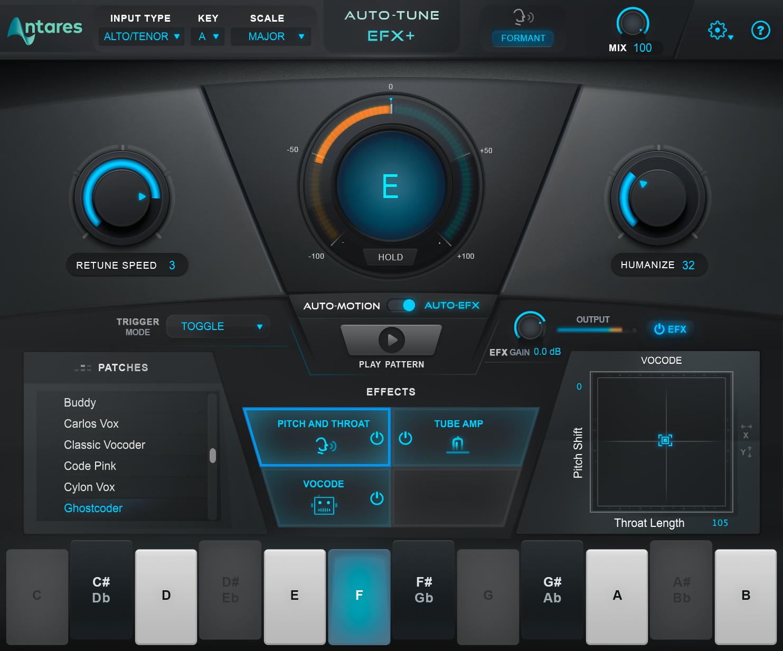 Antares Auto-Tune EFX+   AudioDeluxe
