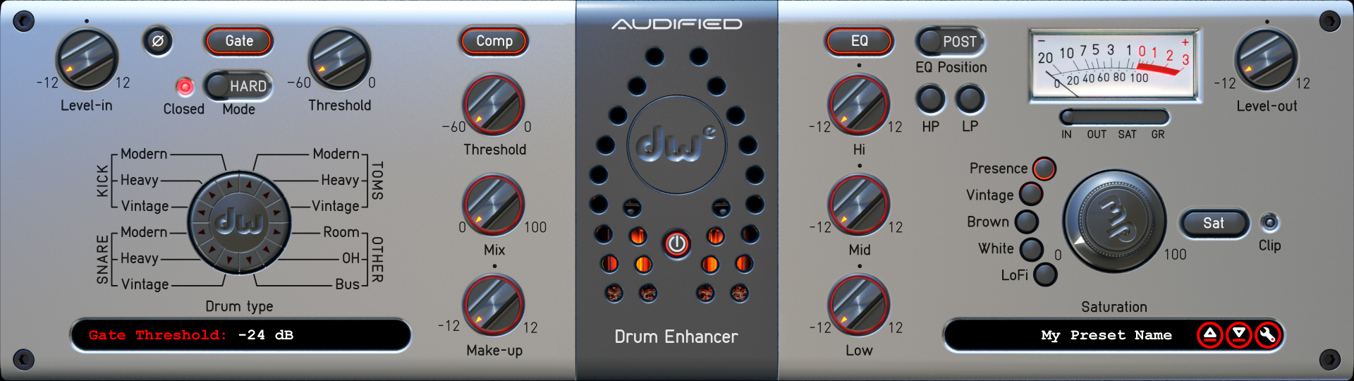 Audified Dw Drum Enhancer Audiodeluxe Audio Enhancement For Analog Amplifier Previous Next