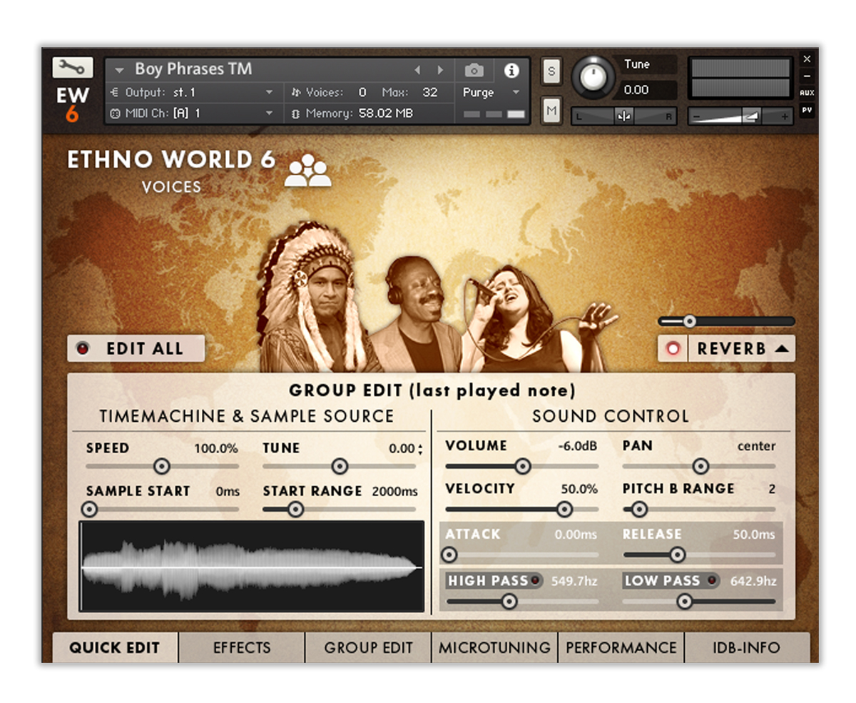 Best Service Ethno World 6 Complete | AudioDeluxe