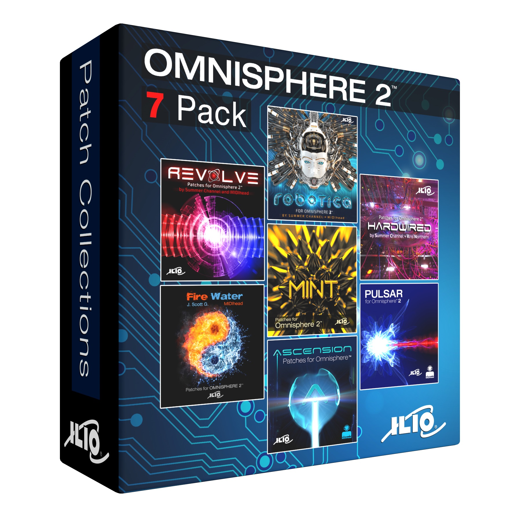 ILIO Patch Library Bundle for Omnisphere 2™ | AudioDeluxe