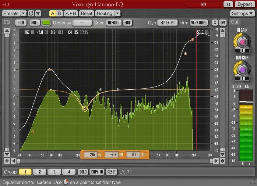 Voxengo HarmoniEQ | AudioDeluxe