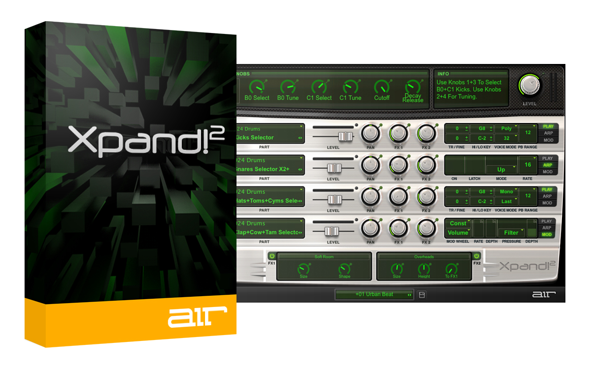 AIR Xpand!2 | AudioDeluxe
