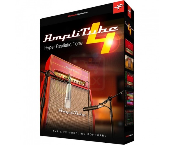 AmpliTube 4 by IK Multimedia box shot