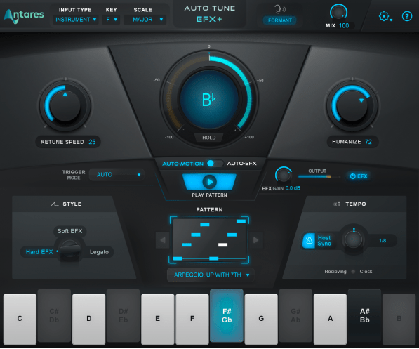 Auto Tune EFX+ by Antares screen shot 2