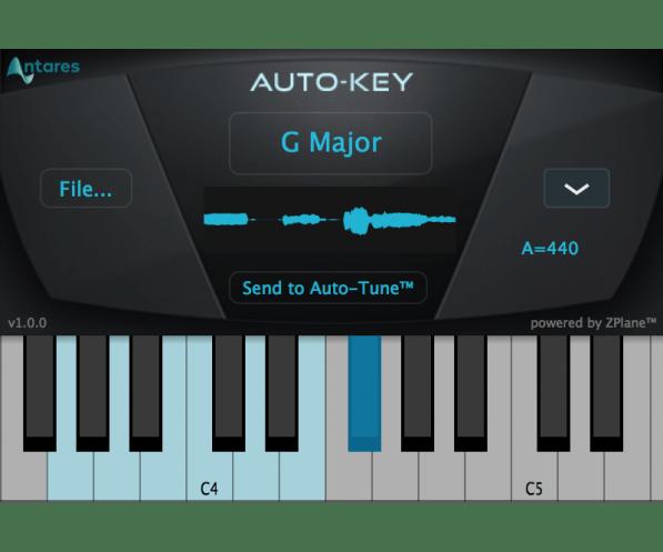 Antares Autotune Pro auto key screen shot 3