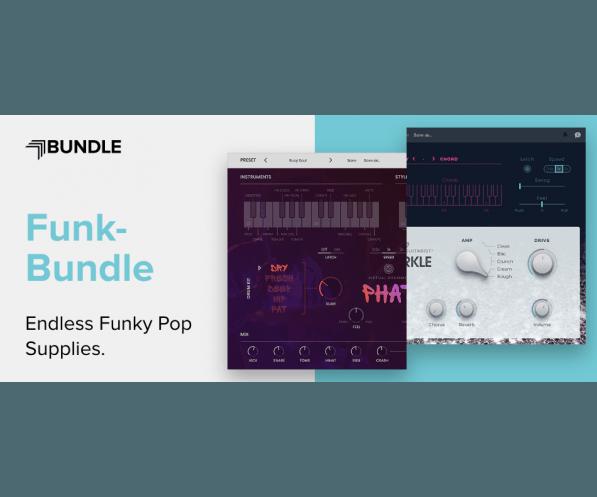 UJAM Funk Bundle   AudioDeluxe