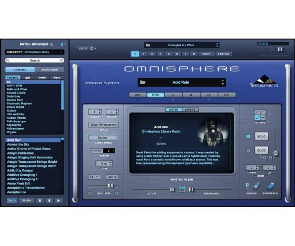 Spectrasonics Omnisphere 2.6 screen shot 3