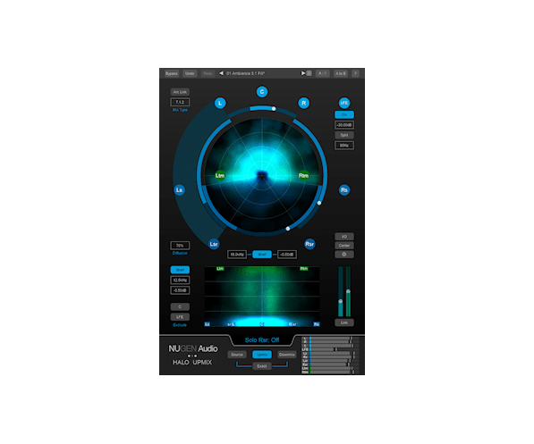 NUGEN Audio Halo Upmix 3D Immersive Extension | AudioDeluxe