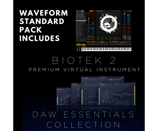 Tracktion Waveform 10 Standard Pack | AudioDeluxe